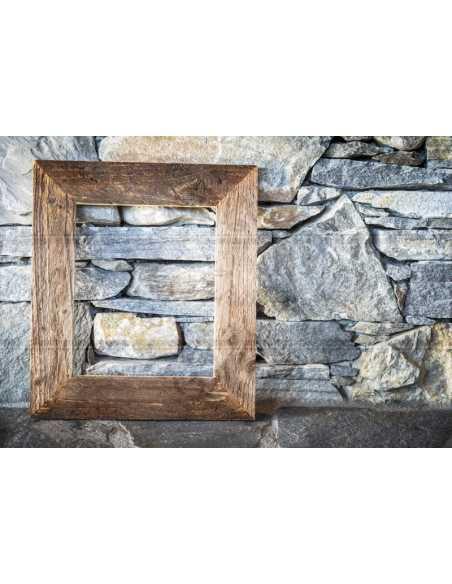 Exemple de cadre en vieux bois