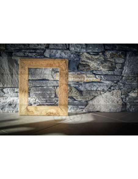 Cadre pour photo en vieux bois, rustique, texture authentique rustique