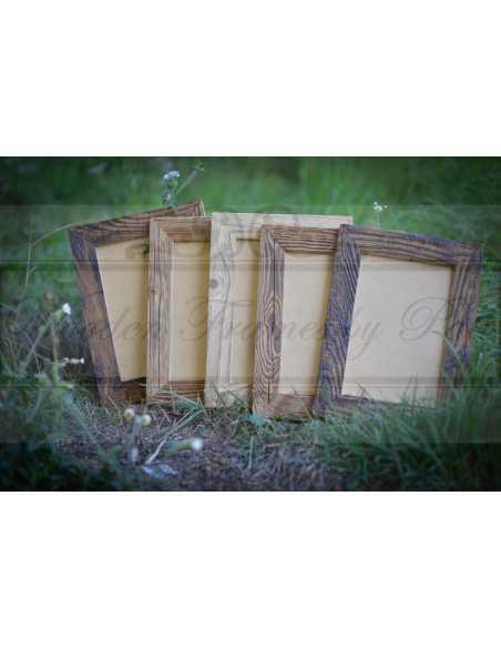 Série des cadres en vieux bois pour photo 20x30 cm