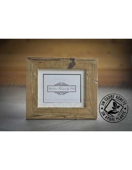 1 cadre acheté 1 arbre planté, cadre vieux bois pour la photo 20x25 cm (8x10 inches)
