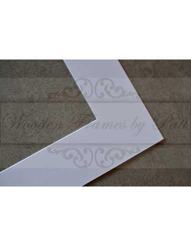 Passepartout blanc popur photo 20x30 cm