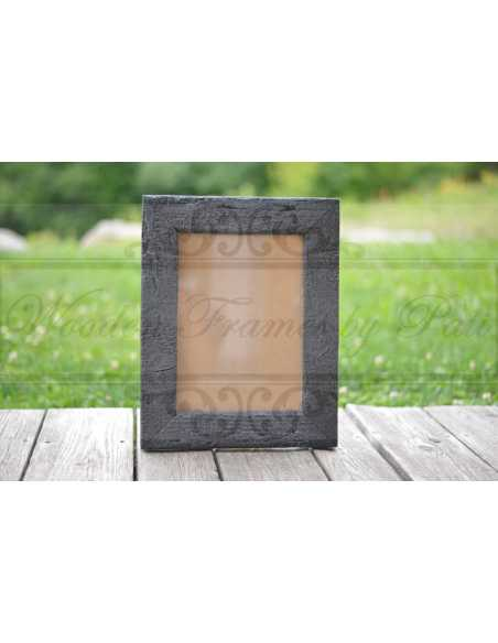 cadre photo bois carbonisé shou sugi ban 20x30 cm , Patrycja Caban, Wooden Frames by Pati